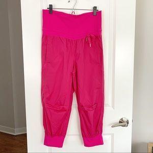 Lulu Devi Dance Crop Pants Pink Sz 8